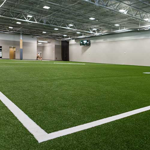 Indoor Turf Field at
